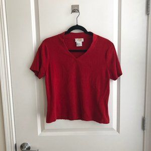 Vintage Red Colored Tee